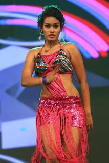 Nisha Item Dances Performance on Stage at Sri Sri Movie Audio Launch