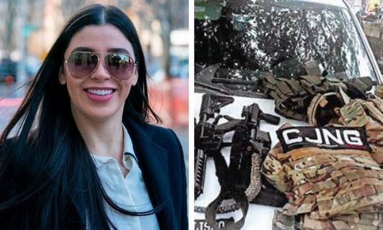 """Emma Coronel señora de """"El Chapo"""" manda amenaza a """"Los Rodolfos"""" del CJNG por control de Xochimilco."""