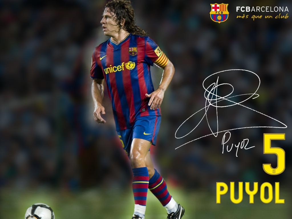 carles puyol barcelona wallpaper - photo #3