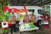 Ambulance GuDek dan Berbagi Masker ala SALAM menuju  Mataram Zona Hijau