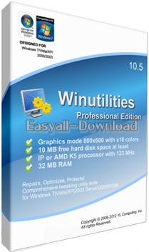 WinUtilities Professional 13.24 Final [Full Crack] เพิ่มประสิทธิภาพคอมพิวเตอร์ของคุณให้ เร็ว แรง จนฉุดไม่อยู่