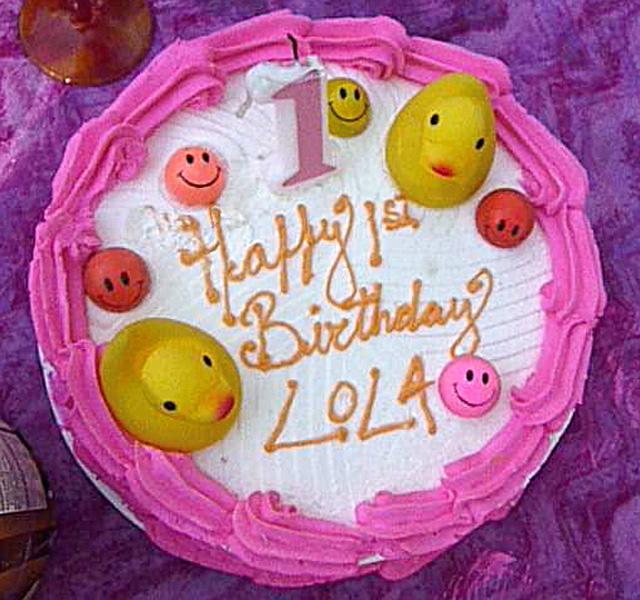 Monkees Birthday Cake