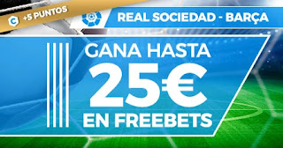 Paston promo Real Sociedad vs Barcelona 21-3-2021