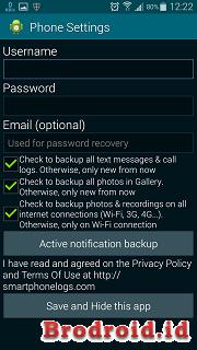 SMARTPHONE LOGS APK Android + Cara Login