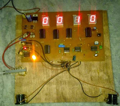 Prototype of Speed Checker for Highways