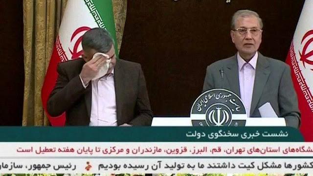 Trước khi được chẩn đoán nhiễm COVID-19, Thứ trưởng Y tế Iran từng có biểu hiện đáng lo ngại trên truyền hình