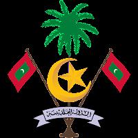 Logo Gambar Lambang Simbol Negara Maladewa PNG JPG ukuran 200 px