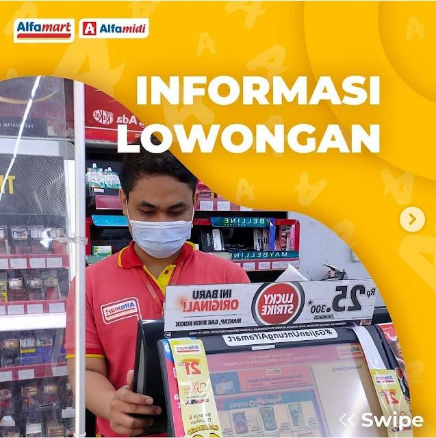 PT. Sumber Alfaria Trijaya tbk Membuka Loker Sebagai Pekerja Harian Lepas (THL)