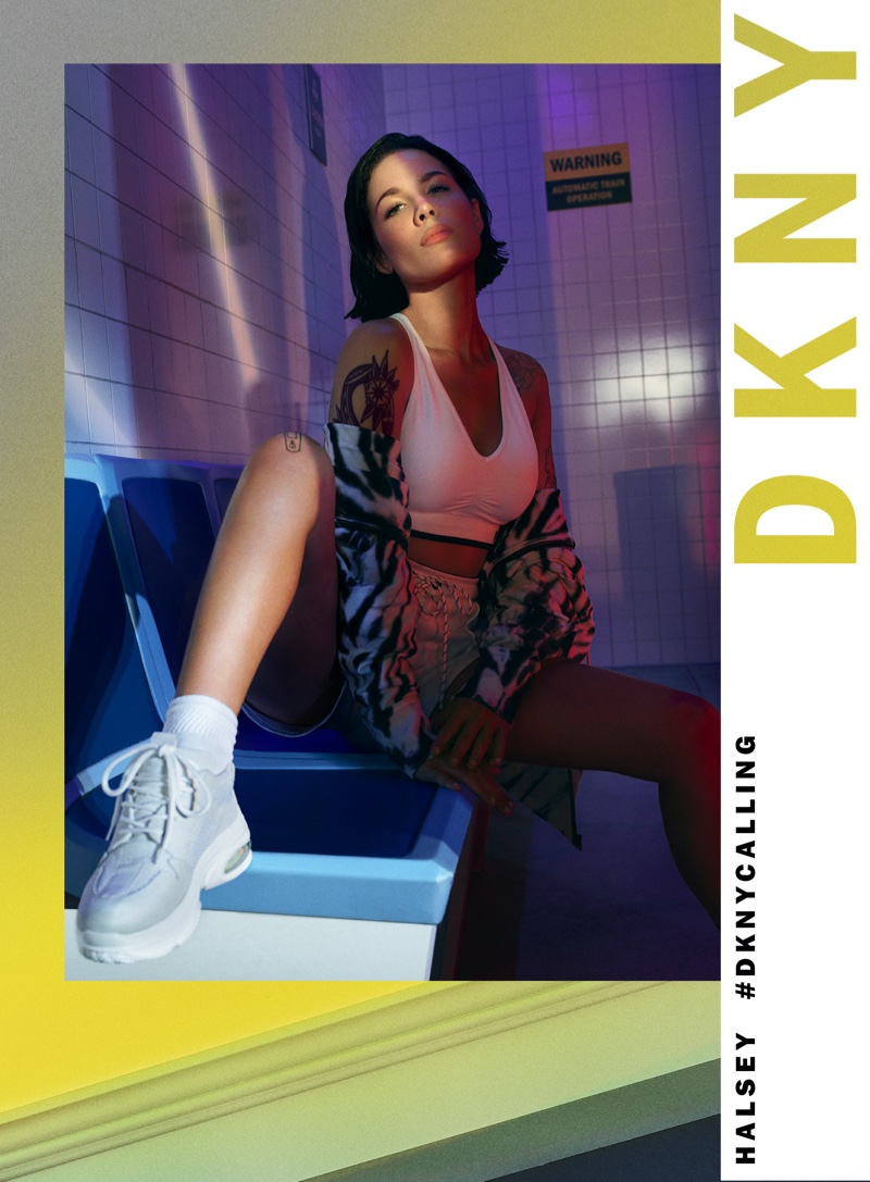 DKNY unveils spring-summer 2020 campaign with Halsey