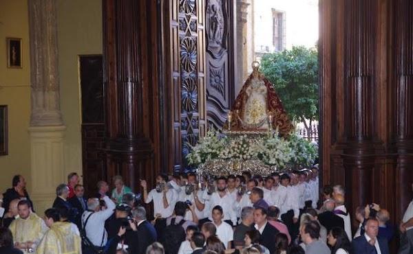 La Virgen de Araceli presidirá el rosario de las glorias el año que viene en Málaga