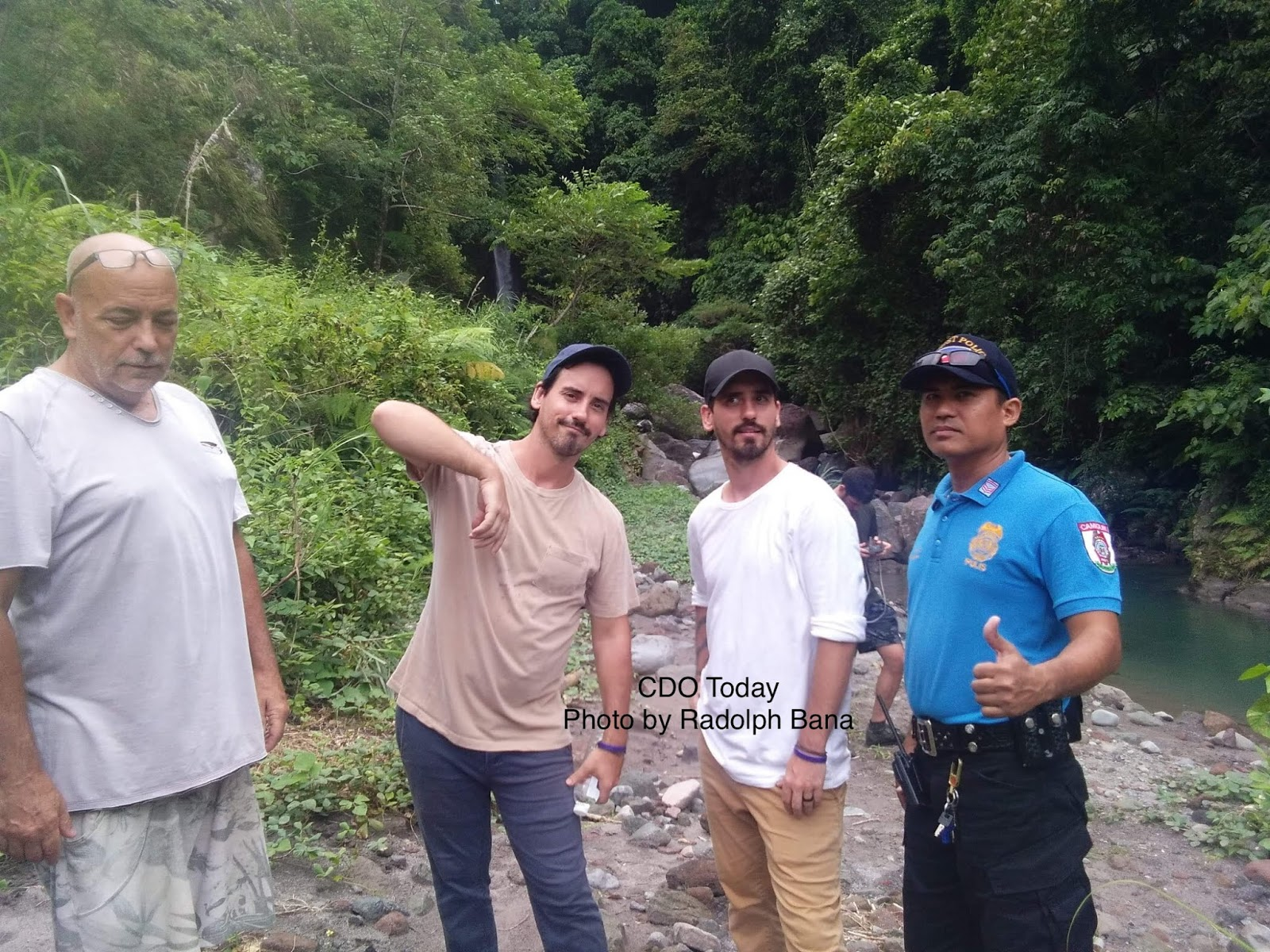 The Moffatts Brothers Visited Camiguin Island