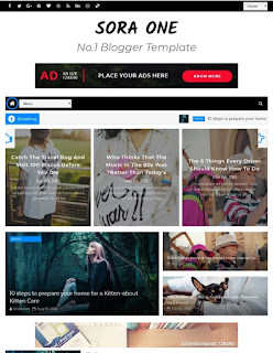 Best free responsive Blogger Templates 2020