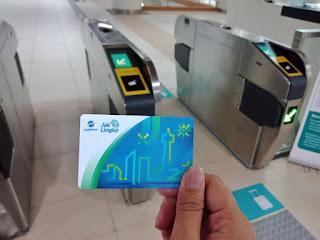 Tap In MRT Jakarta dengan Kartu JakLingko