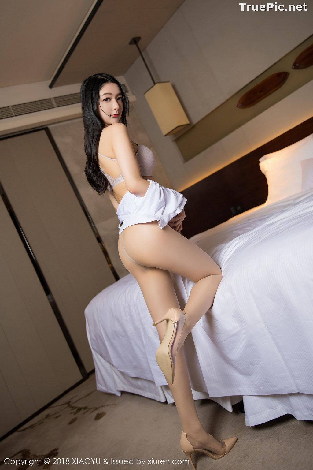 Image XiaoYu No.004 - Chinese Model - Xiao Reba (Angela喜欢猫) - White Sexy Nurse - TruePic.net - Picture-34