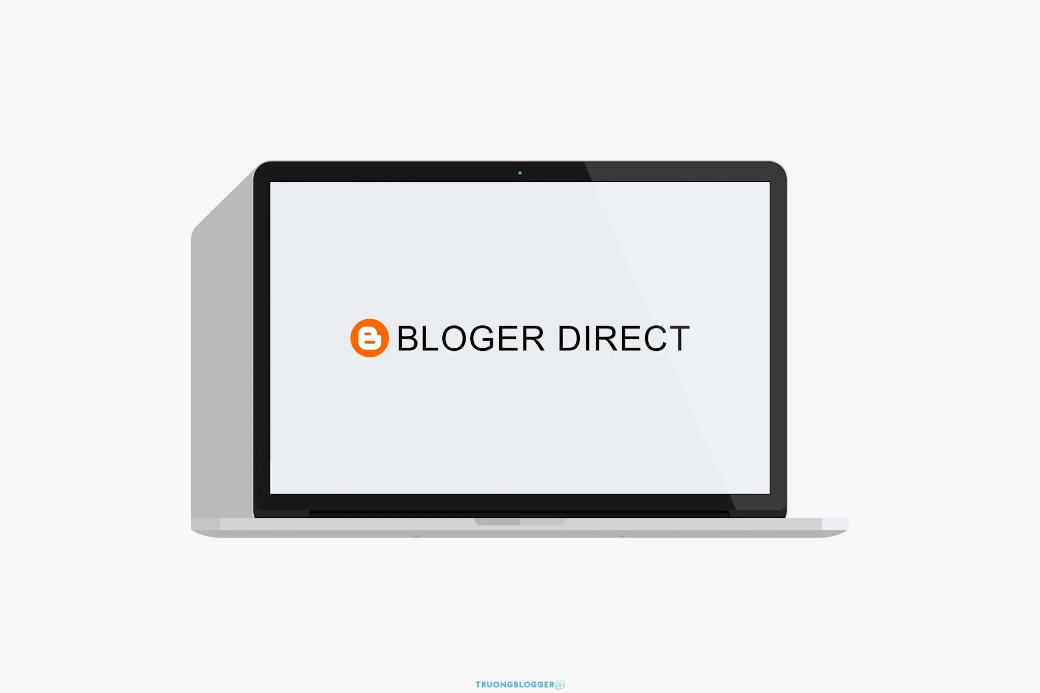 Cách làm trang chuyển hướng khỏi Blog cho Blogspot (Blogger)