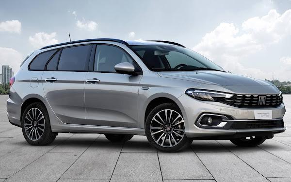 Novo Fiat Tipo 2021 ganha versão Cross e facelift