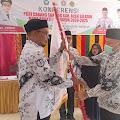 Darman, S.Pd Nahkodai PGRI Cabang Sawang Periode 2020-2025