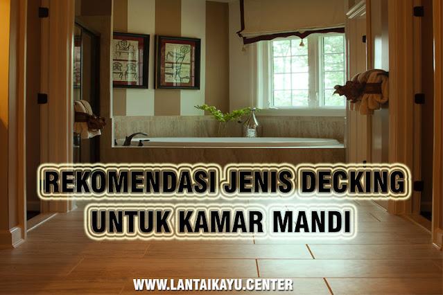 decking kayu bedroom minimalis