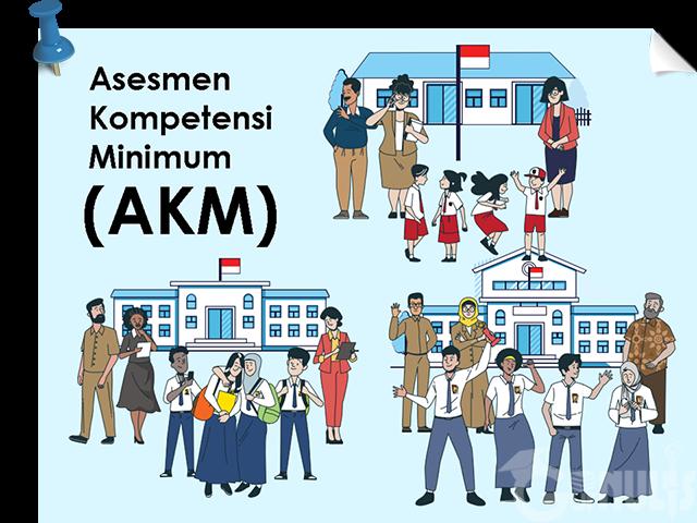 Pelaksanaan Asesmen Kompetensi Minimum (AKM) - www.gurnulis.id