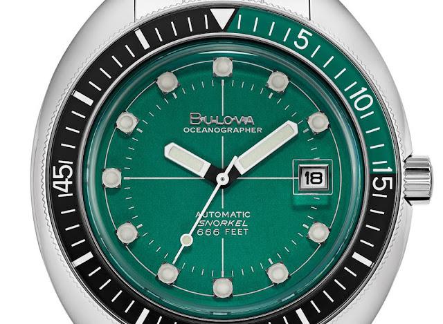 Bulova Oceanographer Diver Green Ref. 96B322