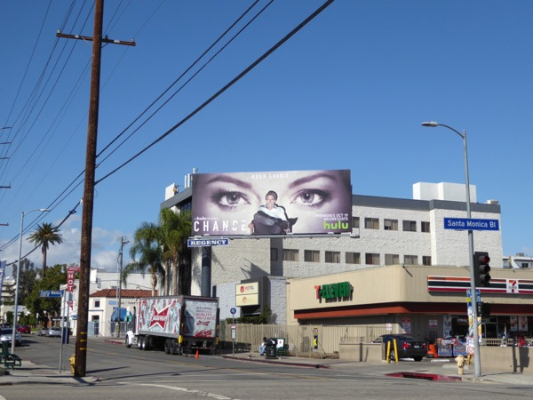 Chance series premiere billboard