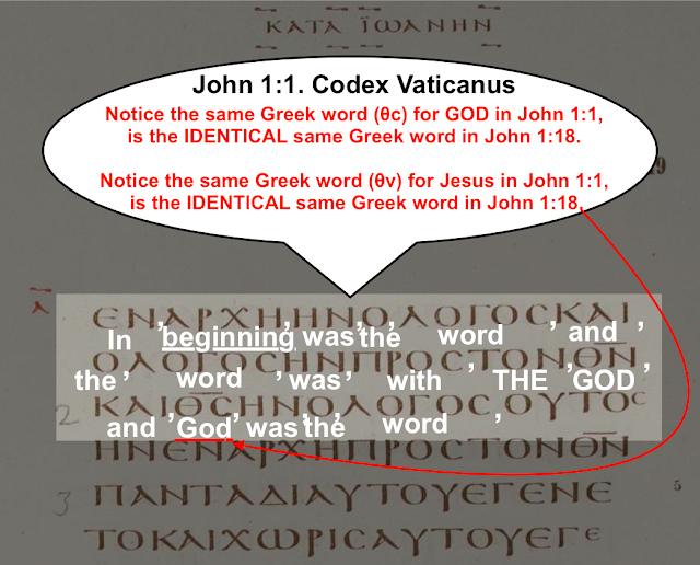 John 1:1.