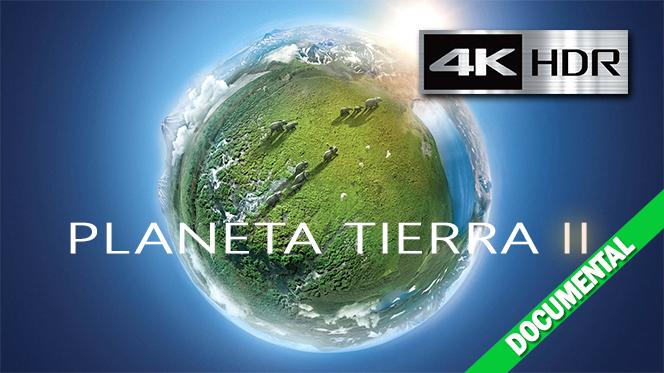 Planeta Tierra II (2016) 4K UHD [HDR] Castellano-Ingles