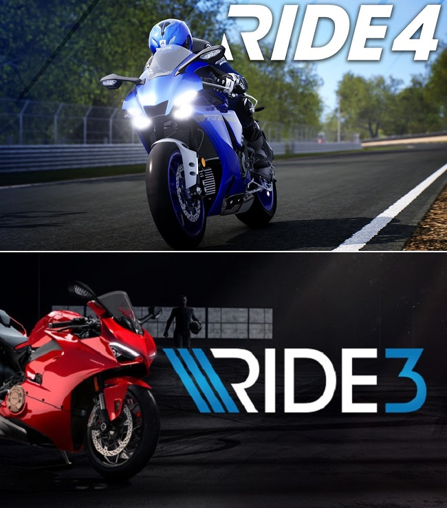 Differences in graphics of Ride 4 vs Ride 3