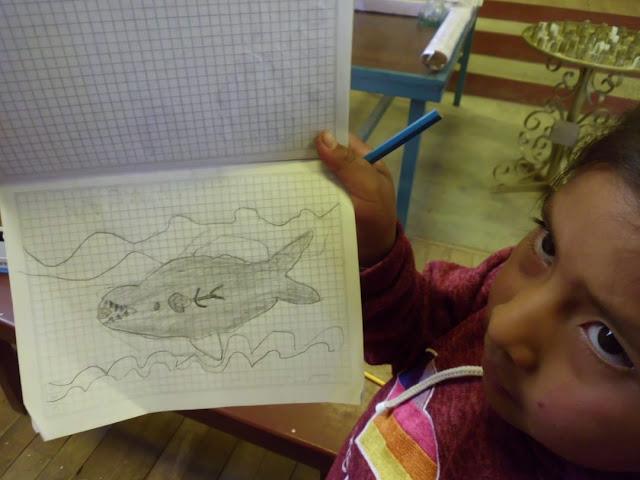 Zeichnen machen sie besonders gern.
