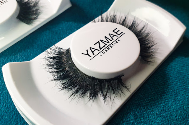 Yazmae Cosmetics Luxury 3D Mink Lashes in London