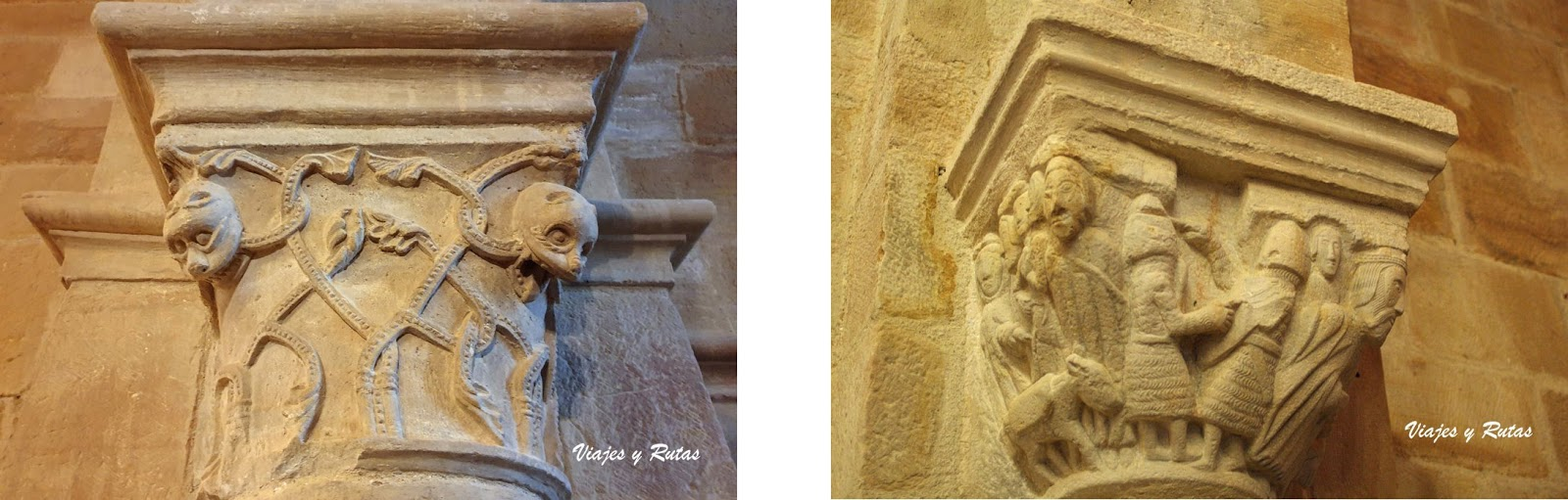 Capiteles de Santa Cecilia, Aguilar de Campóo