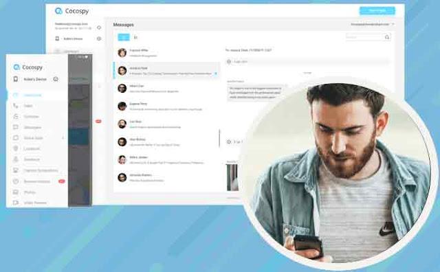 """Cocospy adalah aplikasi sadap WhatsApp terbaik yang pernah dibuat. Dengan begitu banyak fitur yang ditawarkan dan UI yang terlihat modern, Cocospy menonjol dan berbeda dari yang lainnya. Aplikasi ini merupakan """"tool"""" inovatif yang bisa masuk ke akun WhatsApp siapa pun dan membuka semua data mereka kepada Anda. Bahkan dapat menampilkan gambar dan video yang telah dikirim atau diterima seseorang melalui WhatsApp."""