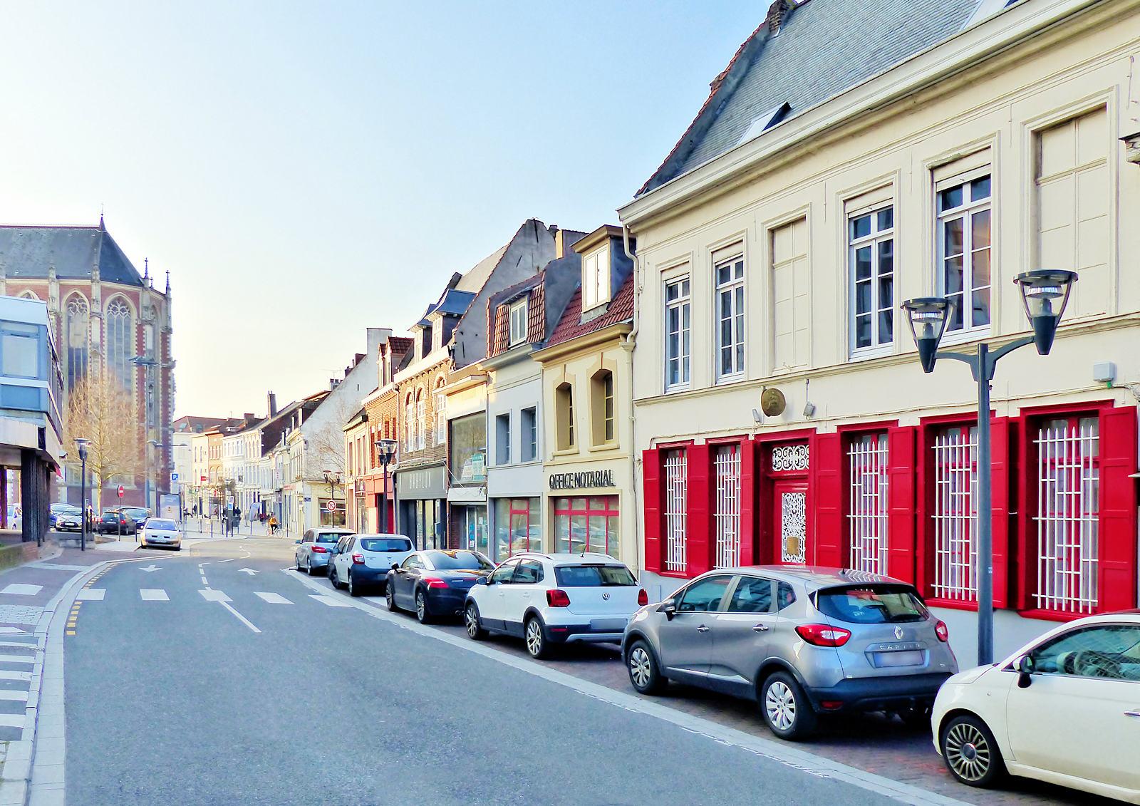 Rue de Tournai, Tourcoing - Office notarial Adrover.