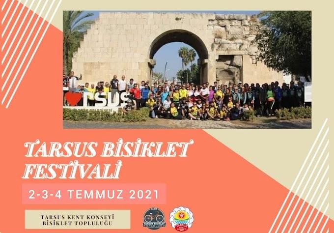 TARSUS BİSİKLET FESTİVALİ 2-3-4 TEMMUZ'DA YAPILACAK