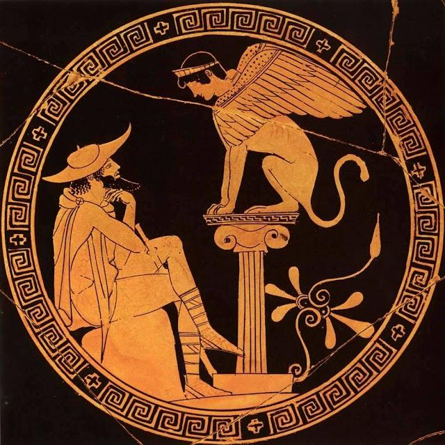 Οι σφίγγες στην αρχαία ελληνική μυθολογία (αποσυμβολισμός)