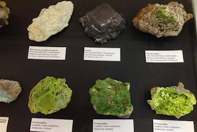 Colección de minerales geografica