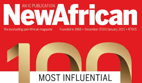 PERSONNALITES AFRICAINES  : Le Top 100 de New African