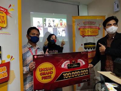 Pemenang Undian Grand Prize Sobatku