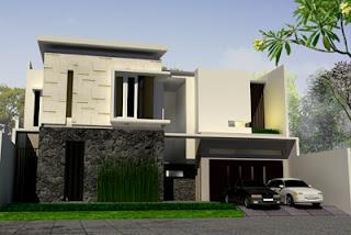 contoh rumah modern tropis - inspirasi desain rumah