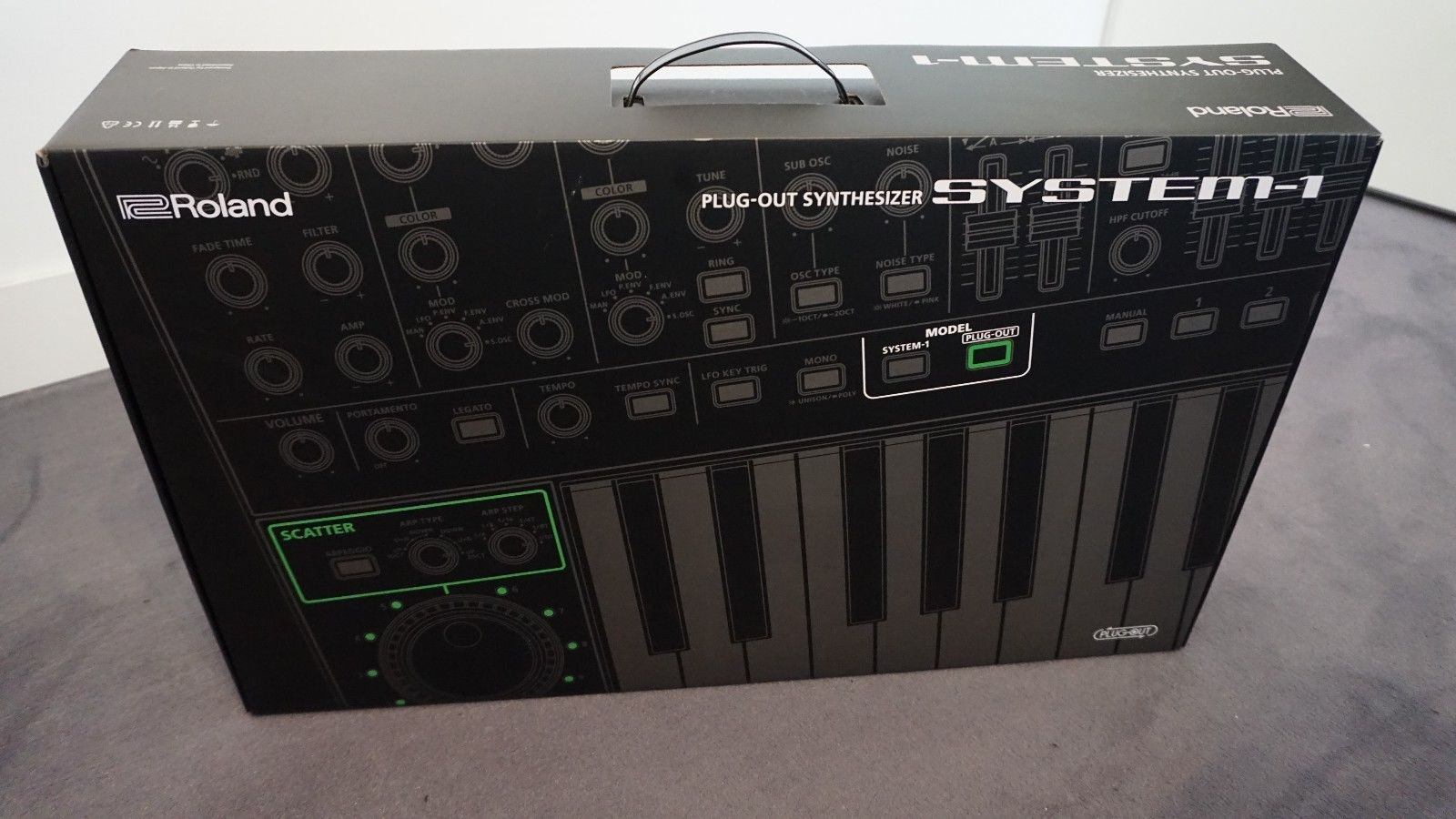 Matrixsynth Roland Aira System 1 Plug Out Synth System