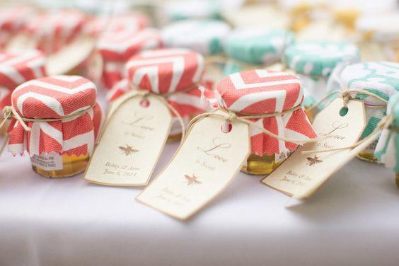 miód ślub, miód wesele w stylu rustykalnym