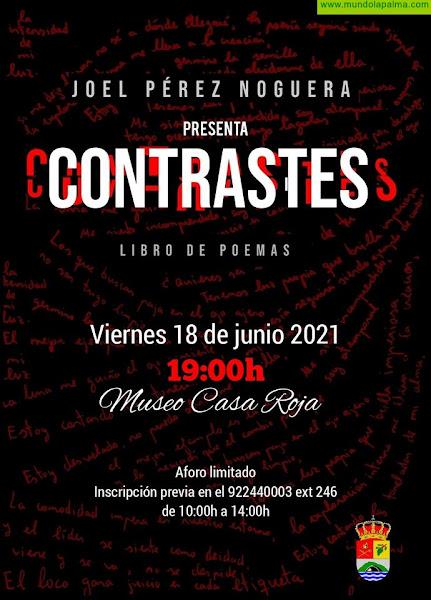 Villa de Mazo presenta este viernes 'Contrastes', el poemario de Joel Pérez Noguera
