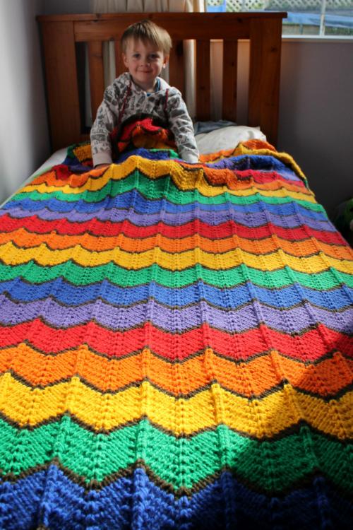 Western Hills Blanket - Free Pattern