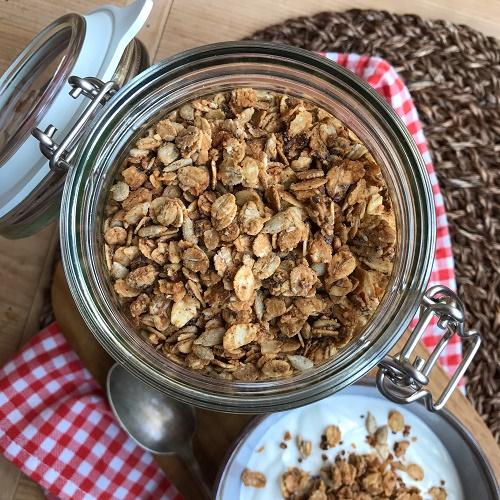 Erdnußbutter-Granola