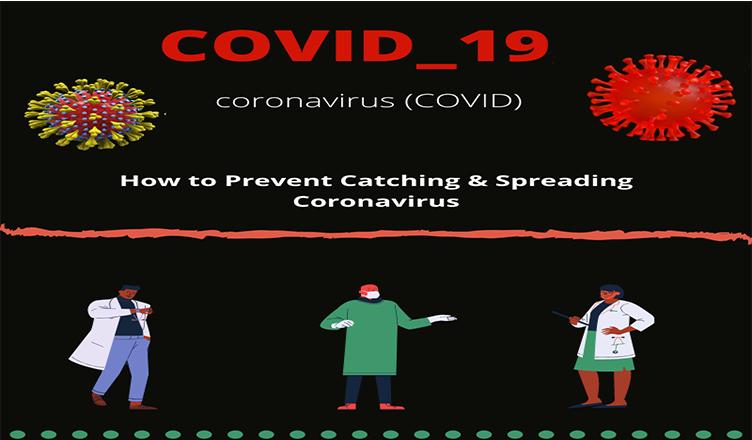 How to prevent catching & spreading coronavirus #Infographic