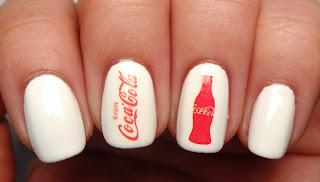 Coca-Cola Nails