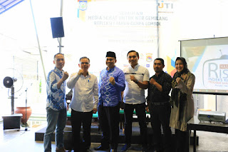 Seminar IJTI bedah problematika media pada instrumen NTB Gemilang Zull-Rohmi