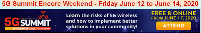 5G Summit Encore Weekend Friday June 12 to Sunday June 14, 2020