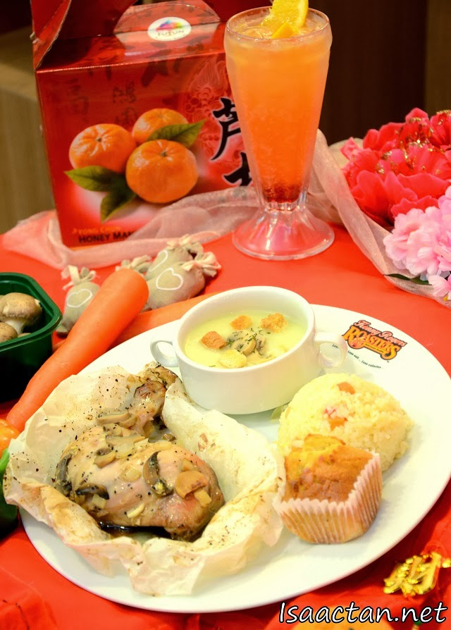 Kenny Rogers Roasters Teriyaki Chicken Set Meal (Tropical Paradise prices seperately) - RM19.90