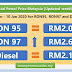 Latest official Petrol Price Malaysia 4 Jan - 10 Jan 2020